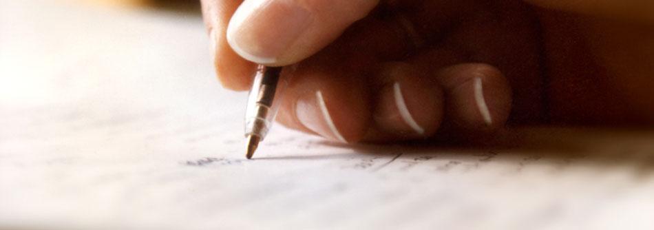 Skrivhjälp